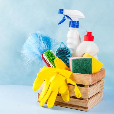 المنزل والتنظيف